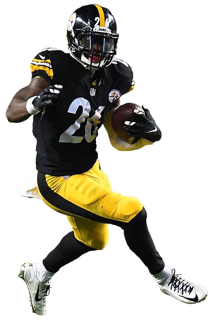 Le veon bell pittsburgh.  png royalty free