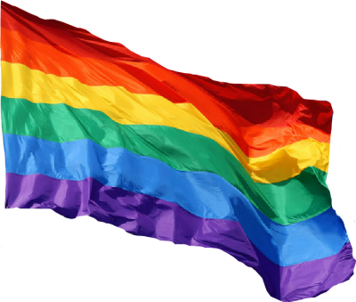 transparent lgbt flag