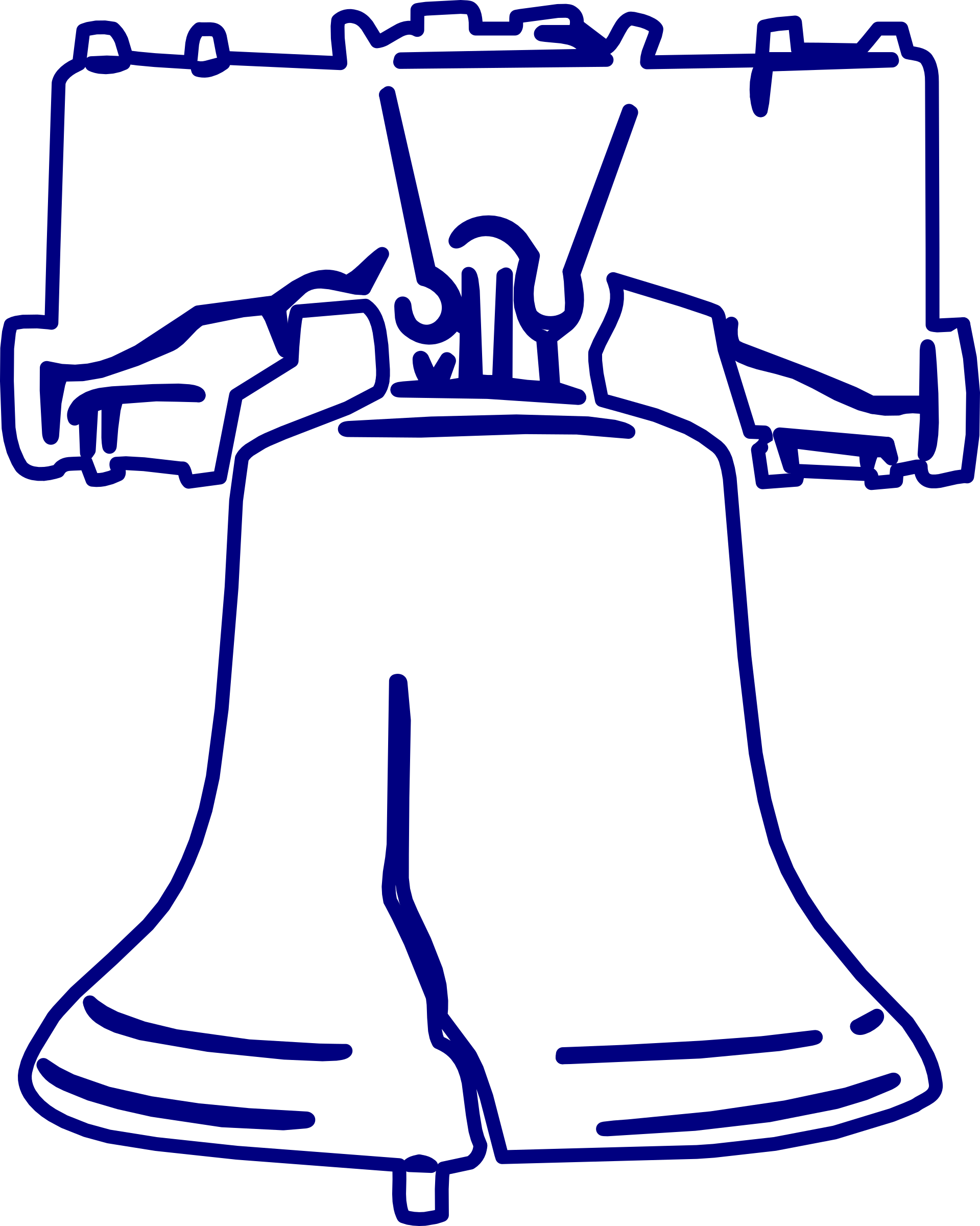 Liberty bell clip art png. Icons free and downloads