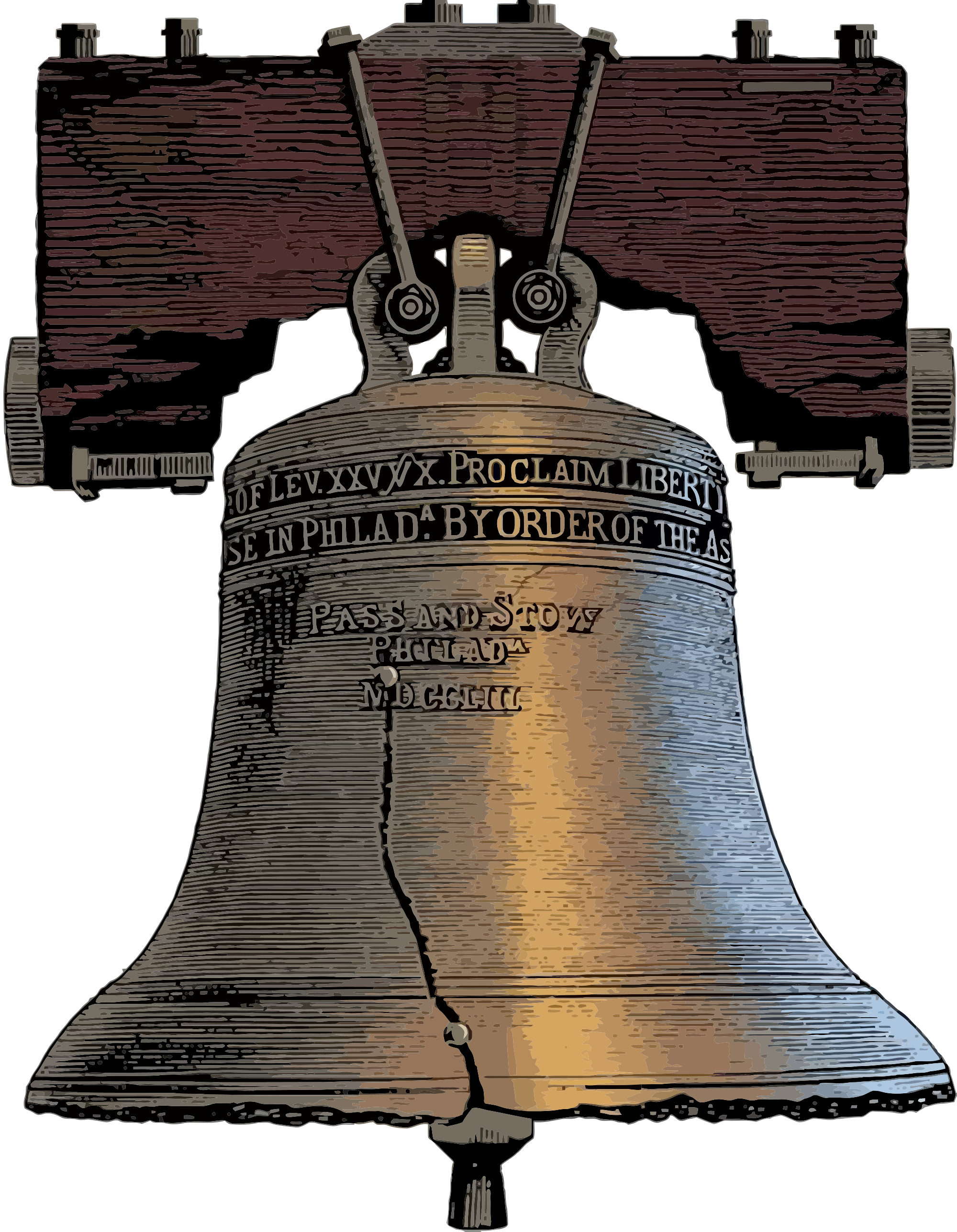 Liberty bell crack png. Libertarianism and the blockchain