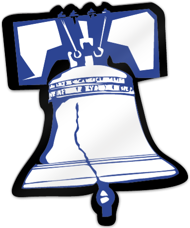 Liberty bell logo png. Shaped magnet signstoyou com