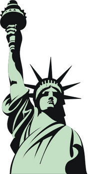 Liberty clipart. Statue of