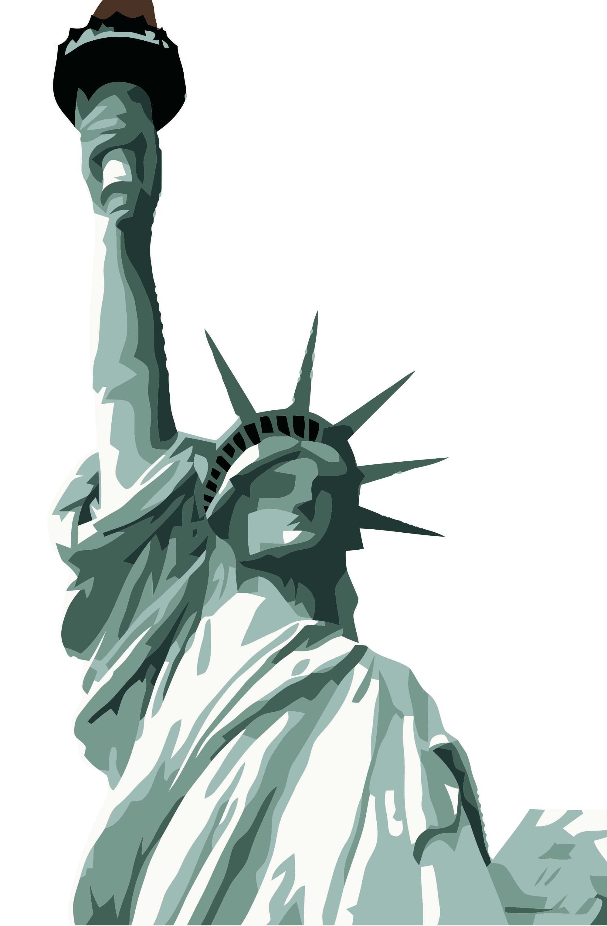 Liberty statue clipart png. Of transparent images open
