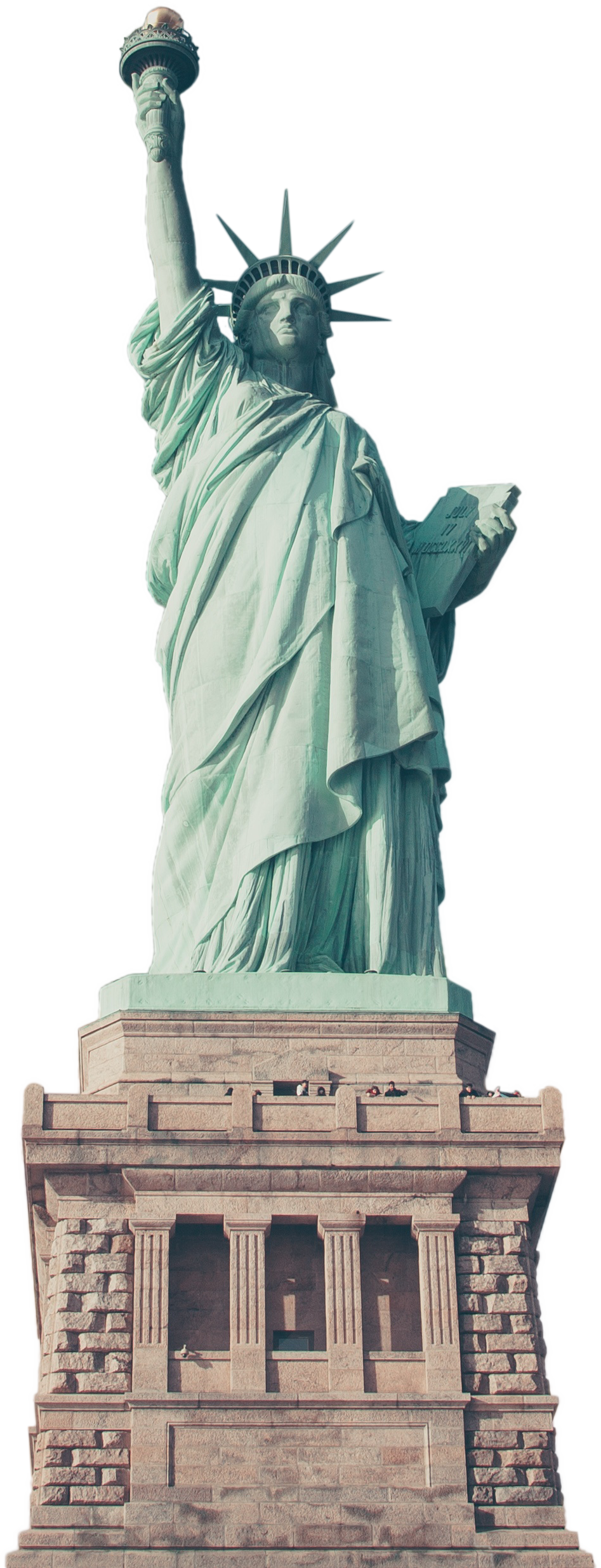 Liberty clipart clear. Statue of transparent png