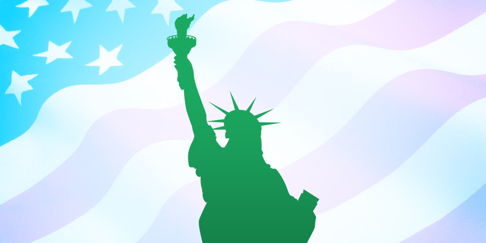 Liberty clipart statue libery. Free of vector by