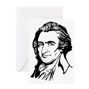 Thomas drawing sketch. Paine greeting cards pk