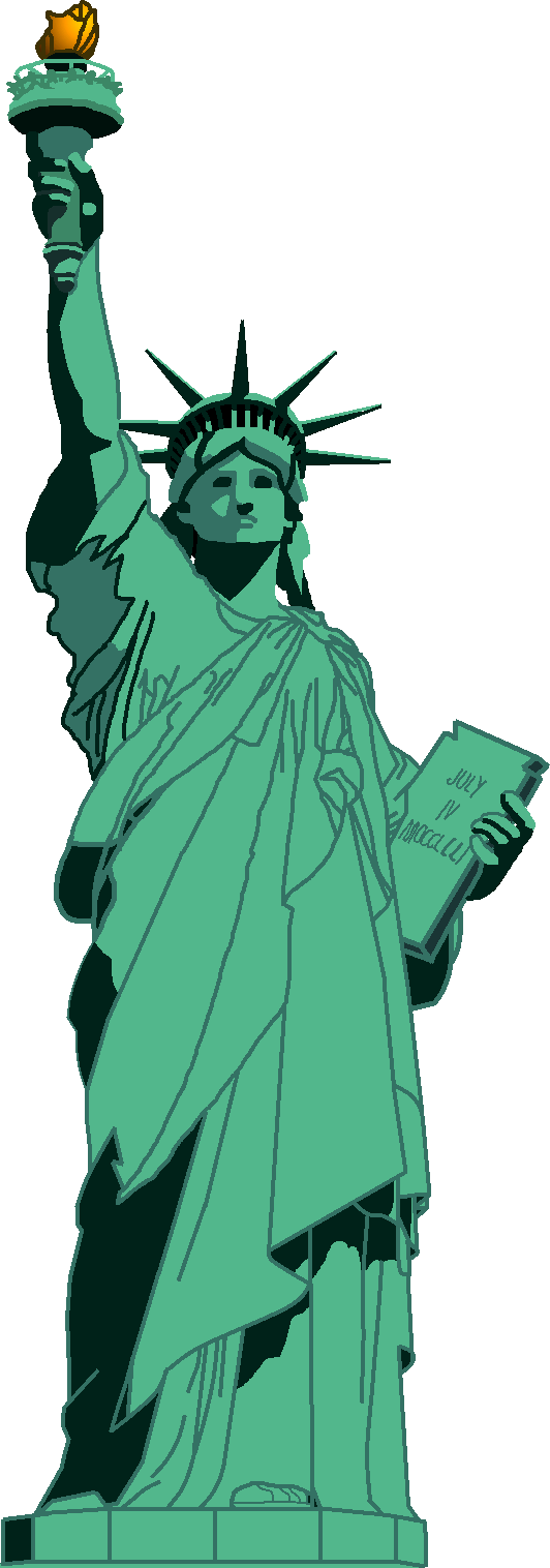 Liberty drawing realistic. Statue of pinterest and