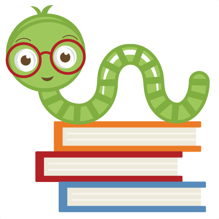 Worm clipart two. Free cute cliparts books