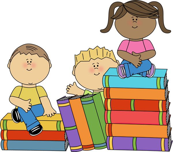 Children clipart library. Hundreds of cute free