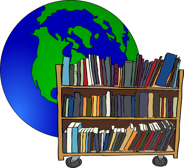 Bookshelf clipart bibliotheque. Free library cliparts download