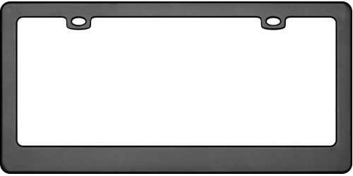 license plate frame png