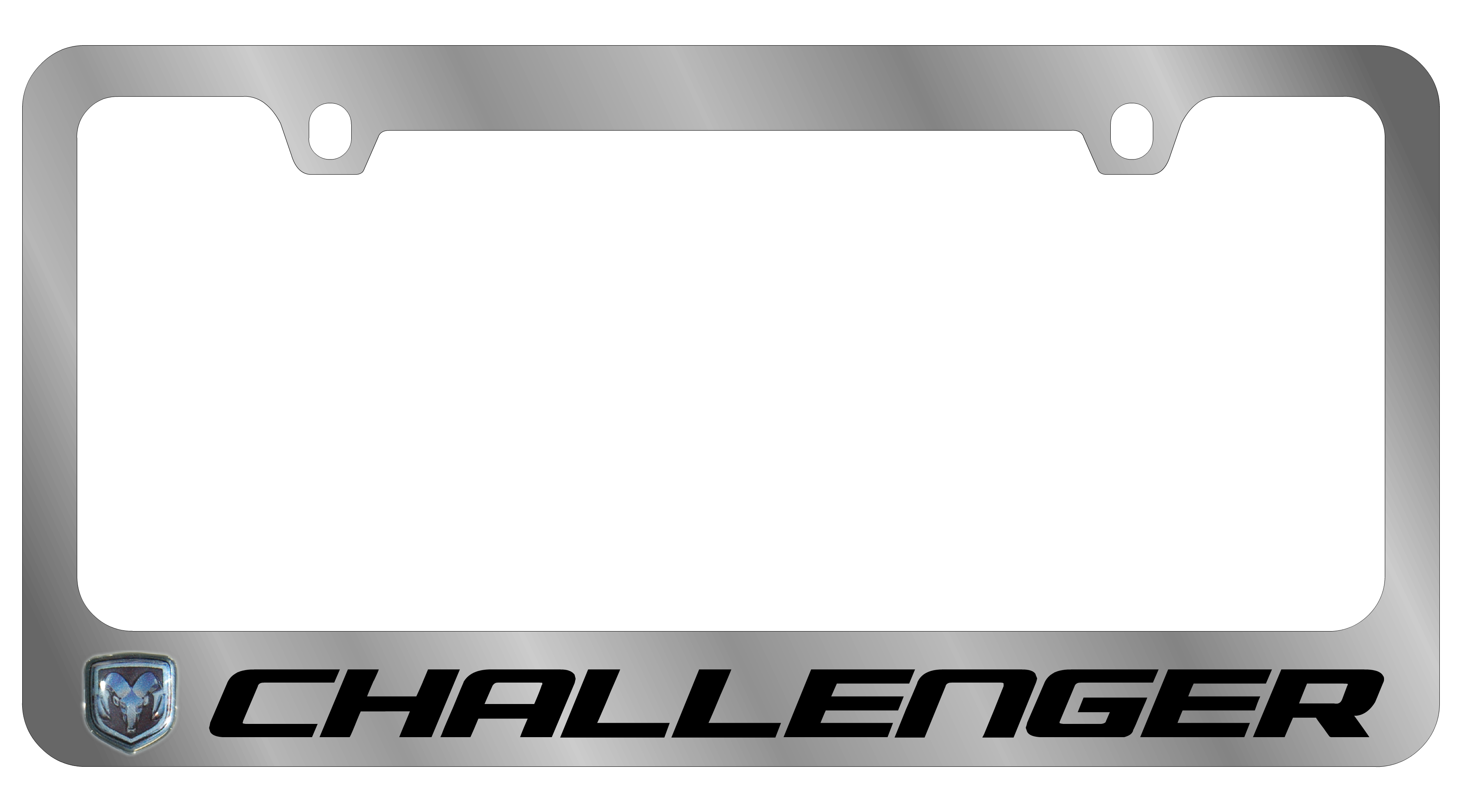 Dodge Chrome PLASTIC License Plate Frame