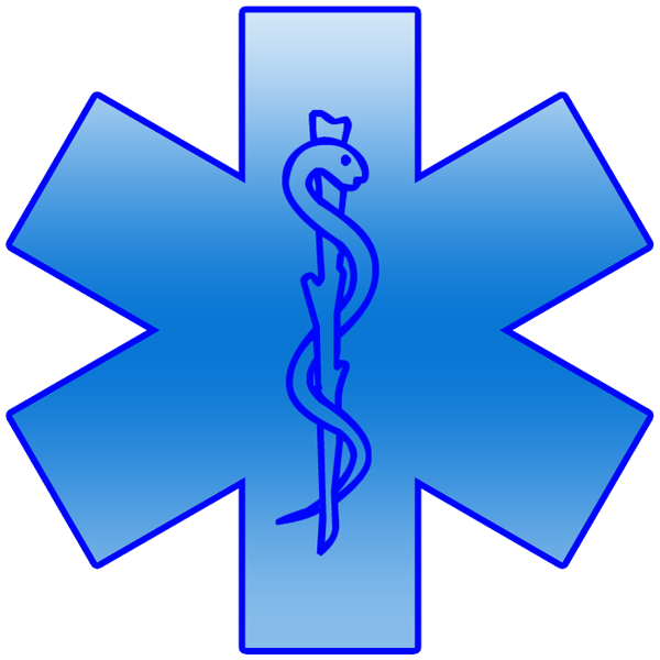 Life clipart life symbol. Blue star of image