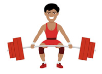 Weightlifting clipart. Search results for lifting