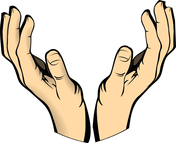 Lifting up arms in prayer with transparent background png. Collection of hands