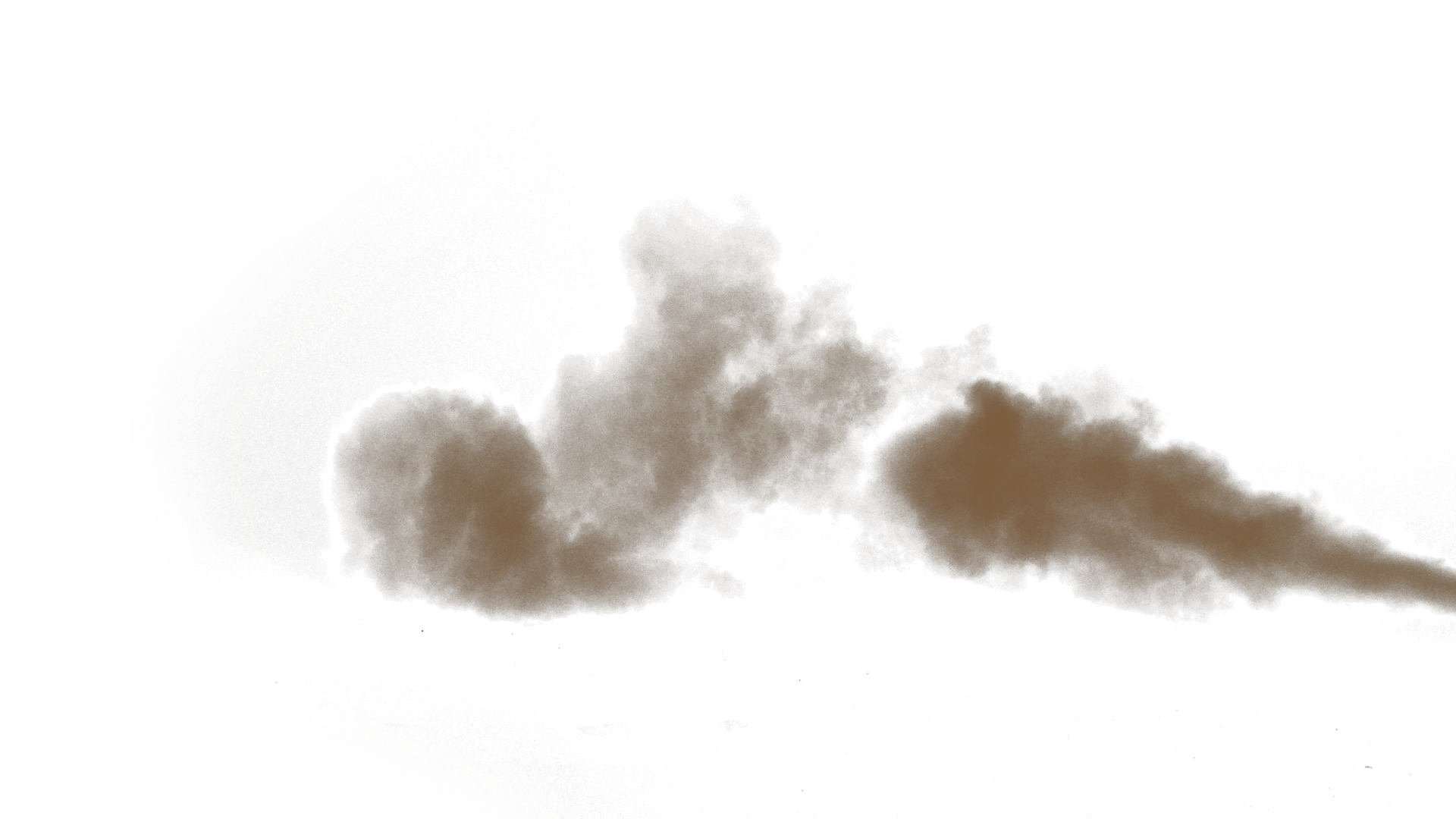 Cloud smoke png. Brown transparent stickpng