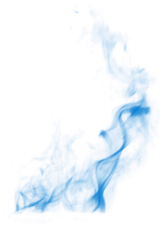 Light blue smoke png. Overlay
