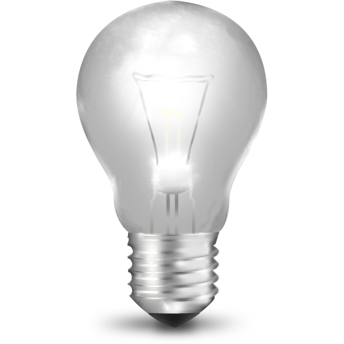 Light bulb on off png. Icons vector free and