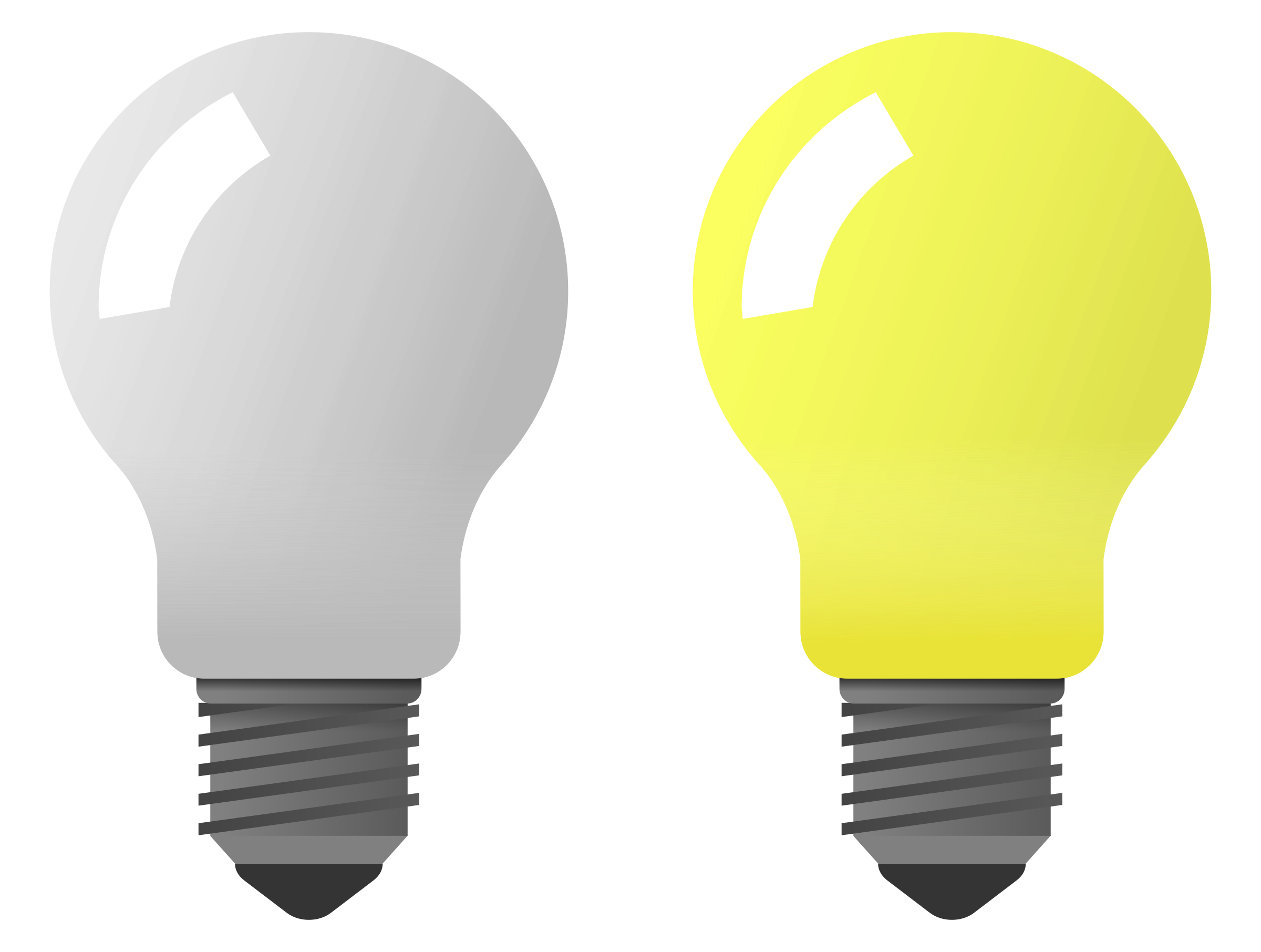 Light bulb on off png. Icons free and downloads
