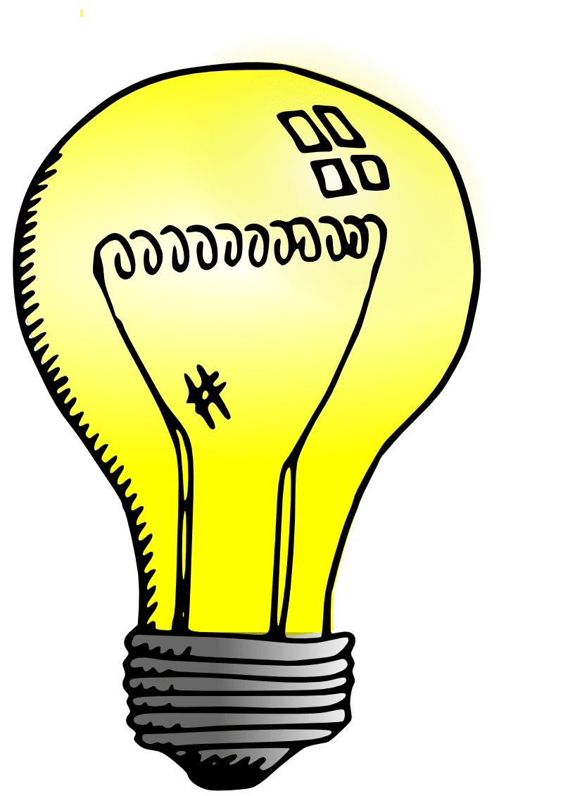 Light bulb transparent png. Drawing stickpng
