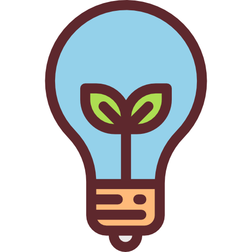 Light bulb vector png. Idea creative seo and