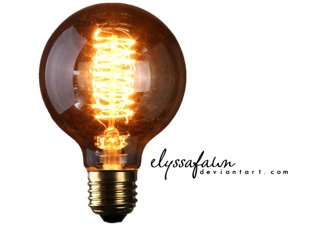 Light bulbs png. Old bulb by elyssafawn