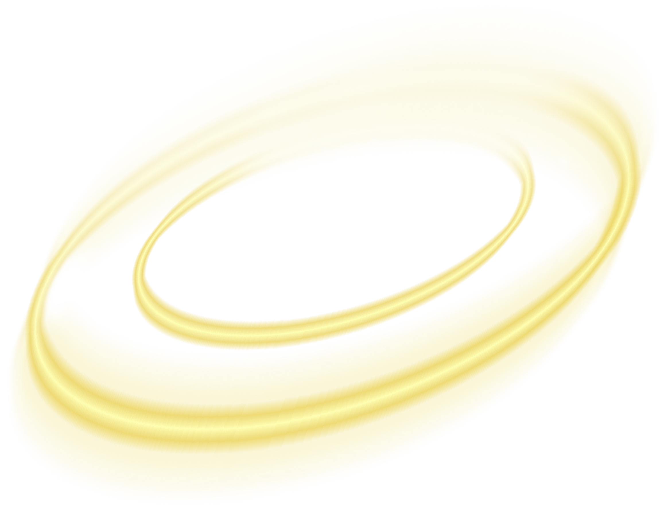 Gold light effect png. Yellow circle element effects