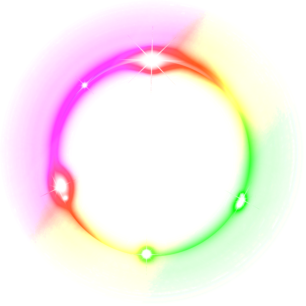 Light circle png. Effect photo mart