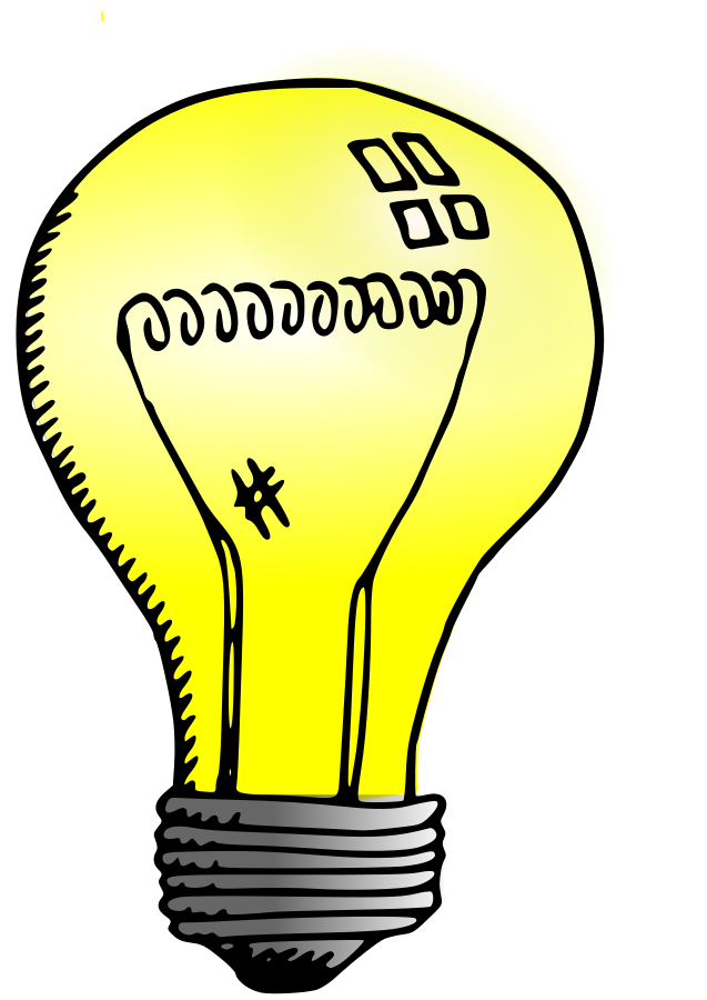Light clipart. Sources of