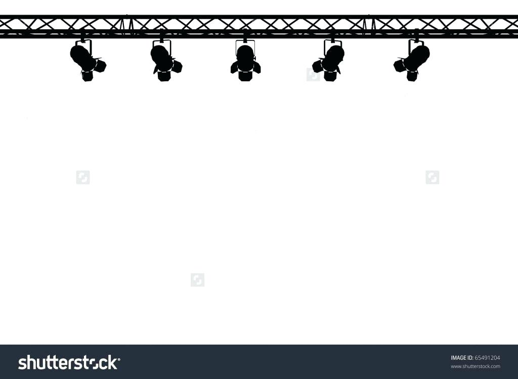 Light clipart. Stage lights clip art