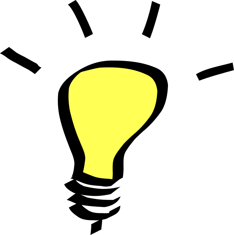 Idea lightbulb png. Free light bulb picture