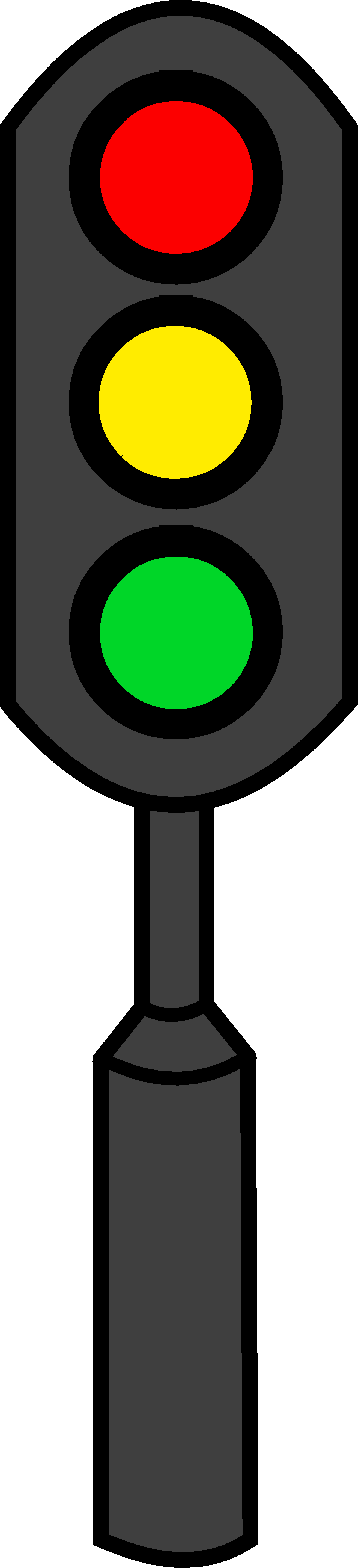 Traffic clipart transparent. Free stop light cartoon