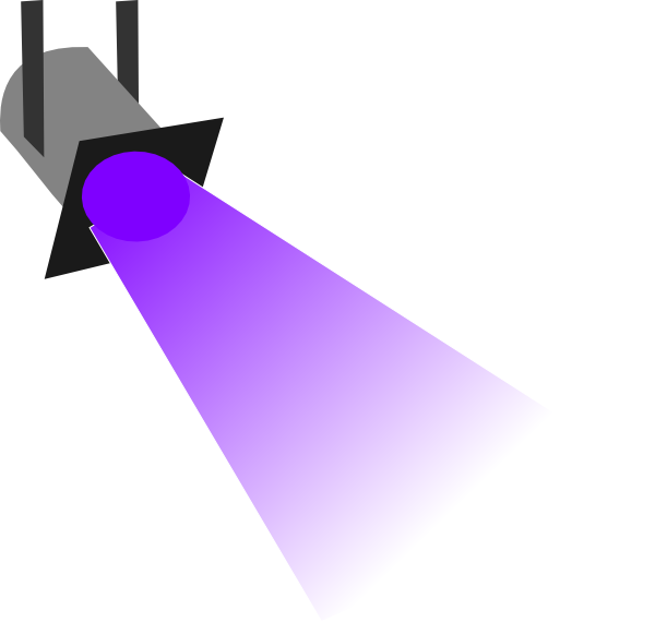 stage light vector png