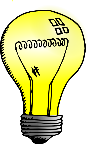 light clipart cartoon