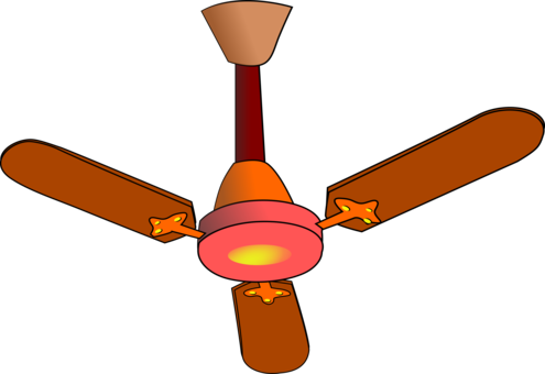 Light clipart ceiling light. Fans ventilation fixture free
