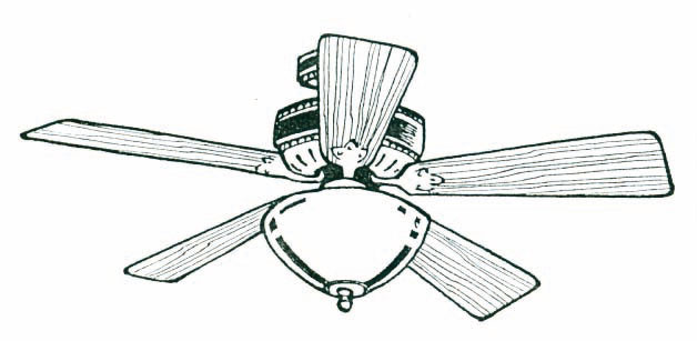 Light clipart ceiling light. Fan coloring pages with