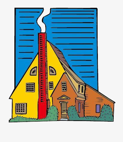 Light clipart house. Chimney smoke houses cooking