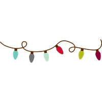 String lights clipart png. Download christmas category and