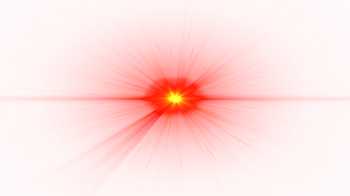 Front lens flare image. Red effect png black and white