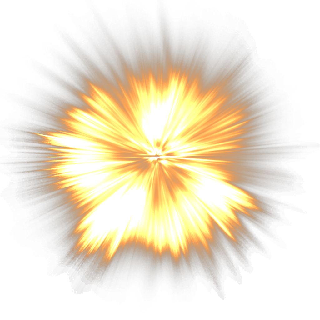 Light explosion png. Effect tumblr ftestickers