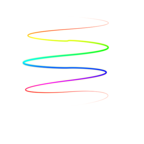 Light lines png. Multicolor by candeloves d