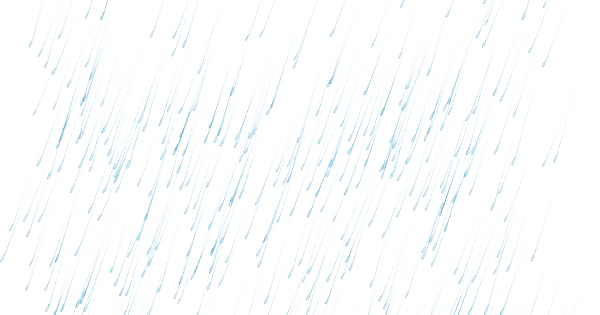 Light rain png. Transparent image mart