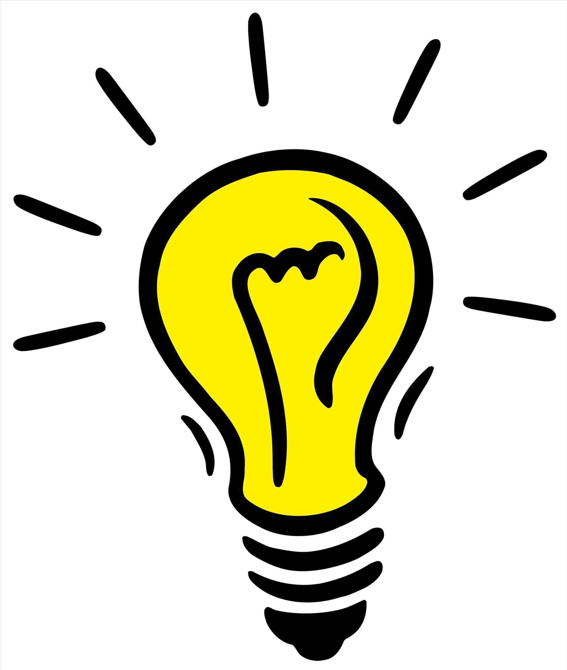 Lightbulb clipart bright light bulb. Idea transparent schedule and