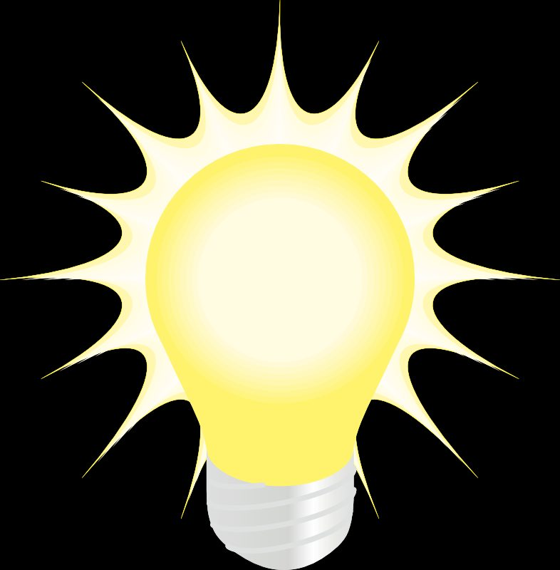 Lightbulb clipart bright light bulb. Bulbs designsbyemilyf com photo