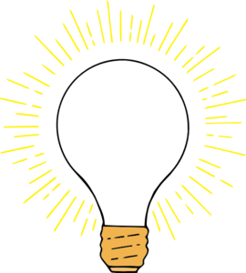 Lightbulb clipart bright light bulb. Clear clip art at