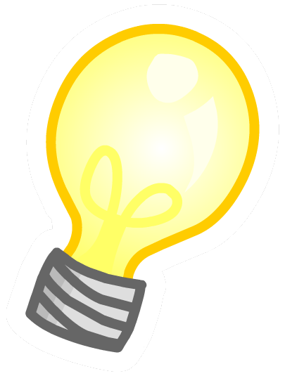 Image club penguin wiki. Lightbulb png picture stock