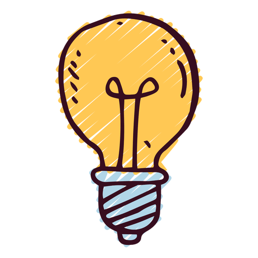 Doodle icon transparent svg. Lightbulb png picture transparent download