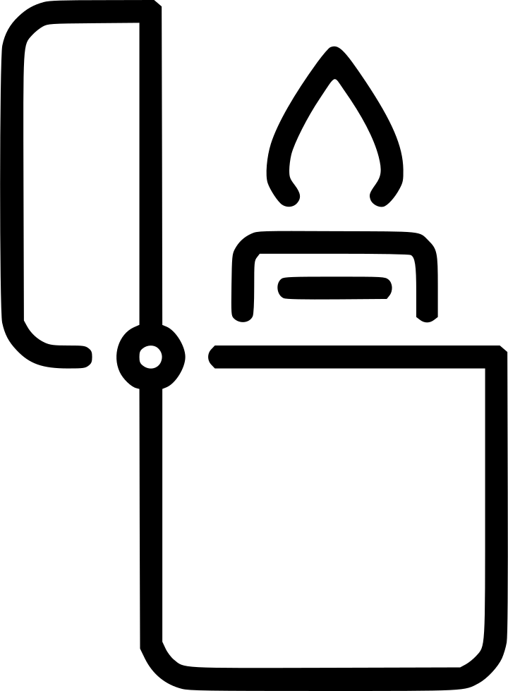 Lighter clip all purpose. Svg png icon free