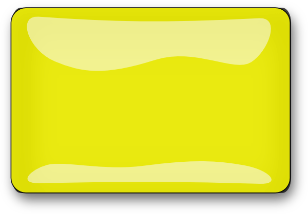 Lighter clip small. Yellow rectangle art at