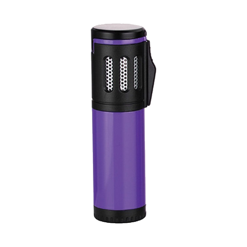 Lighter transparent purple. Eurojet triple torch vision